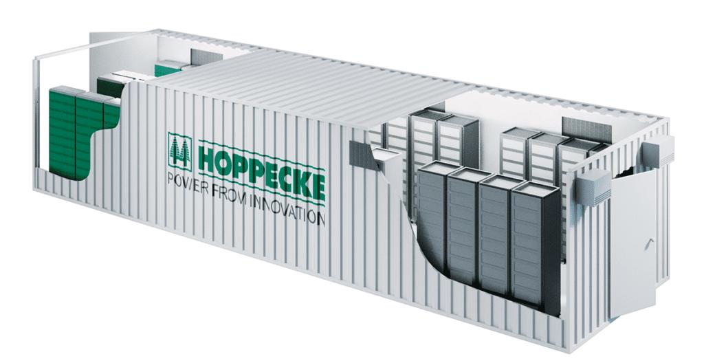 com2m Hoppecke Container