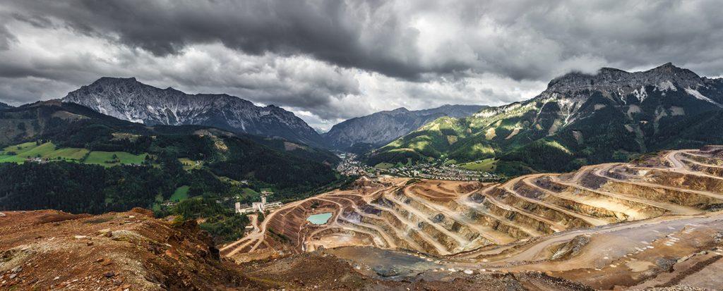 Beispiel für Tagebau